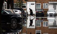 Flooding in Battersea, London, June 2016.