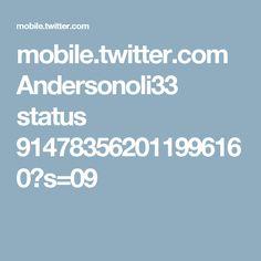 mobile.twitter.com Andersonoli33 status 914783562011996160?s=09