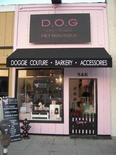For the leading doggie fashions check out DOG Pet Boutique in West Hollywood. Th… – Mushu & Company Pet Treat bakery – pet resort Dog Grooming Shop, Dog Grooming Salons, Dog Grooming Supplies, Dog Grooming Business, Dog Supplies, Dog Spa, Dog Salon, Pet Boutique, Boutique Logo
