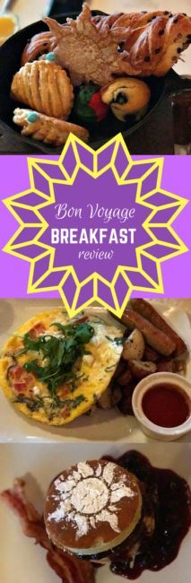 Bon voyage Breakfast at Walt Disney World with Flynn Ryder, Rapunzel, Ariel and Prince Eric. Review of a character meal with flavor!