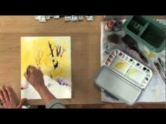 In this http://ArtistsNetwork.tv video workshop, create a brilliant autumn landscape in watercolor, using big shapes and fun techniques to maintain a relaxed...