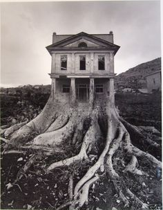 Exhibition dates: June - September 2011 Jerry Uelsmann (American, b. Apocalypse II 1967 Gelatin silver print 10 x 13 in x cm) Collection of the artist © Jerry Uelsmann Uelsmann is one of my favourite artists. His unique vision and the skill required to… Jerry Uelsmann, Bon Jovi, Photomontage, Digital Foto, Montage Photo, Surrealism Photography, Art Plastique, Photo Manipulation, Manipulation Photography