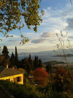 Πορταρια Πηλιο Santorini Villas, Myconos, Acropolis, Once In A Lifetime, Macedonia, Ancient Greece, The Dreamers, The Good Place, Travelling