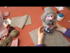 Как сделать домовёнка. - YouTube Jute Crafts, Diy Arts And Crafts, Craft From Waste Material, Doll Videos, Kobold, Needle Felted Animals, Doll Maker, Waldorf Dolls, Soft Sculpture