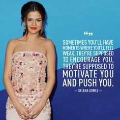 15 Inspiring Selena Gomez Quotes You Need in Your Life Selena Gomez Speech, Estilo Selena Gomez, Feeling Weak, Celebration Quotes, Marie Gomez, She Song, People Quotes, Role Models, Life Lessons
