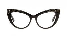 Affordable Fashion Glasses Cat Eye Eyeglasses Women Keiko Roxy Noir