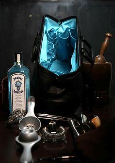 Bombay Sapphire Bar Bag