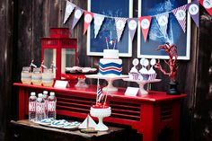 vintage train party by Paiges of Style {printables in her shop}