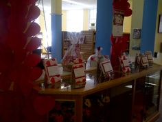 February - Blind Date with a Book display