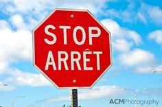Canadian Bi-lingual signs