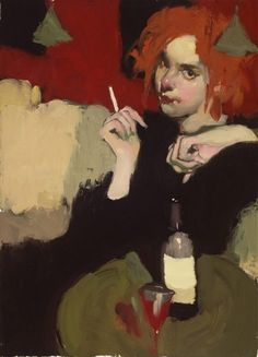 "Contemporary Artist - Milt Kobayashi - ""She's Been Waiting"""