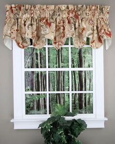 Brewster Swagger Valance - Antique - Lorraine Home Fashions - Swag & Jabot Curtains Country Valances, Country Kitchen Curtains, Kitchen Valances, Kitchen Country, Waverly Curtains, Valance Curtains, Window Valances, Lorraine, Waterfall Valance
