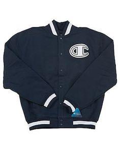 Champion Super Latterman Jacket   Mens NAVY V7058407R40-031 Coats & Jackets
