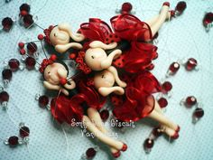 Móbile joaninha p/ Valentina by Sonho Doce Biscuit *Vania.Luzz*, via Flickr