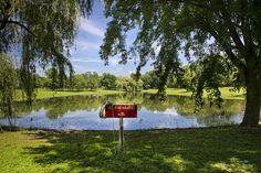 No Swimming At Otsiningo Park Print by Christina Rollo.  All prints are…