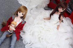 Smart Doll Mirai Suenaga and Ebony by dark_303RDH