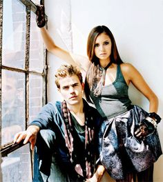 Elena and Stefan - The Vampires Diaries
