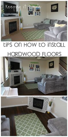 Keeping it Simple: Tips on How to Install Hardwood Flooring by Yourself- Bamboo Strand Handscraped Hardwood