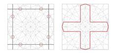 Muslim rule and compass: the magic of Islamic geometric design Geometric Designs, Geometric Art, Geometric Patterns, Islamic Designs, Islamic Art Pattern, Pattern Art, Arabesque, Graph Paper Art, Compass Design