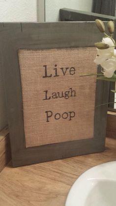 Cute & funny bathroom idea