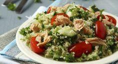 Receta Ensalada de quinoa y salmón | Los Sabores de México y el mundo