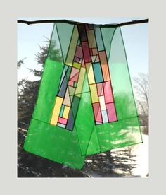#Jogakbo #Pojaki #Patchwork #조각보 #보자기 #선물 초록빛 러너 혹은 창문가리개 155cm x 35cm