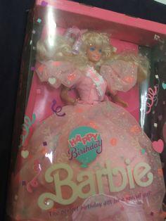 1990 Happy Birthday Barbie NRFB