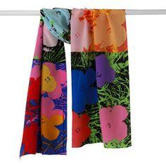 The Met Store - Warhol Flowers Scarf