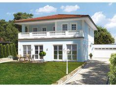 Kundenhaus Familie Berger - #Einfamilienhaus von OSTRAUER Baugesellschaft mbH | HausXXL #Stadtvilla #mediterran #Zeltdach