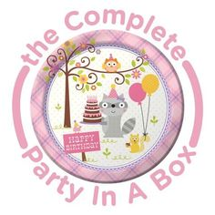 Happi Woodland Girl Party in a Box