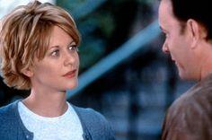 Kathleen (Meg Ryan), Joe (Tom Hanks) ~ You've Got Mail (1998) ~ Movie Photos #amusementphile