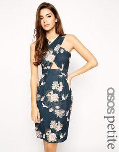 ASOS PETITE Exclusive Cross Front Dress