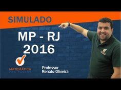 Simulado MP-RJ Raciocínio Lógico Matemático Professor Renato Oliveira