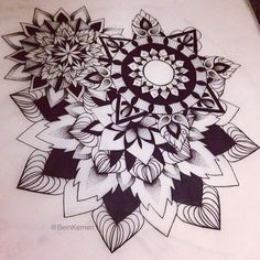 Mandala Designs — beinkemen: I did a ton of hours on this...