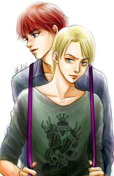 Draco Malfoy and Ronald Weasley -  YAOI_Bonds_Ron-Draco by alexzoe.deviantart.com on @DeviantArt