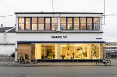 A Look Inside IKEA's Space 10 Innovation Lab in Copenhagen _ 이런 집 짓고 난 이층 .. 일층엔 ...