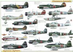 avi0n 2 guere mondial  | Historine: Le Nakajima Ki-44 (Tojo)
