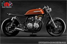 """HONDA CB750 """"The Brushed"""" by Steel Bent Customs Florida"""