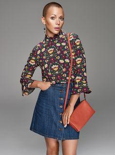 Vanessa Pilon devient mannequin pour Simons - Showbizz.net