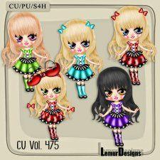 CU Vol. 475 Sweet Ladybug Doll #CUdigitals cudigitals.comcu commercialdigitalscrapscrapbookgraphics #digiscrap
