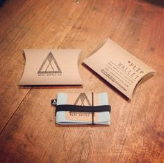 Flip Wallet packaging from Acre Supply Co.