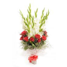 A good gift for wife:Beauty Of Red And White Florals
