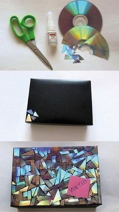 DIY Mosaic Gift Wrapping .                                                                                                                                                     More