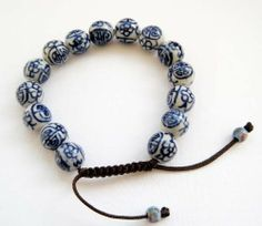 11mm Vintage Style Porcelain Beads Buddhist Wrist Mala Bracelet Ovalbuy. $5.49. Free Jewelry Pouch. Beads Size: about 11mm. Material: Porcelain. Adjustable and fit all size of wrist