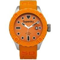 Here we have a stylish Deep Sea Scuba Watch. Featuring an orange silicone strap with Superdry branding, it's the perfect choice for a watch lover. Gents Watches, Rolex Watches, Watches For Men, Superdry Style, Superdry Mens, Scuba Watch, Deep Sea, Watch Brands, Stainless Steel Case