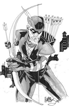 Green Arrow by Tony Harris