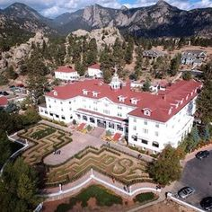 The Stanley Hotel - Colorado - The Shining Haunted Hotel, Haunted Places, Scary Places, Mountain Park, Rocky Mountain National Park, The Stanley Hotel, Stanley Hotel Colorado, Estes Park Colorado, Colorado Trip