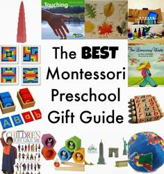 The Best Montessori Preschool gifts, works, toys and more, Montessori at home, www.naturalbeachliving.com