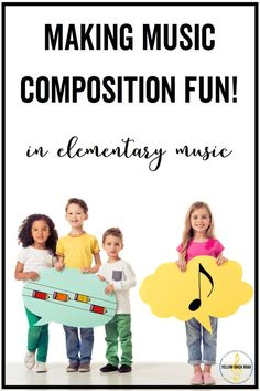 This is a staple for any elementary music classroom. Kids start with vocal exploration and finish by composing with pentatonic patterns.