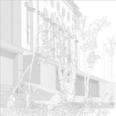 AA School of Architecture 2013 - Diploma 14 - Chris C Bisset Architecture Panel, Architecture Graphics, Architecture Visualization, Architecture Drawings, Architecture Portfolio, Gothic Architecture, School Architecture, Beautiful Architecture, Architecture Design